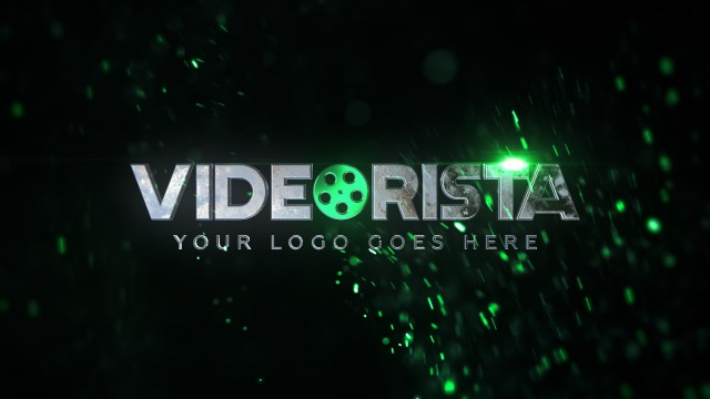 Epic intro with logo and custom colors