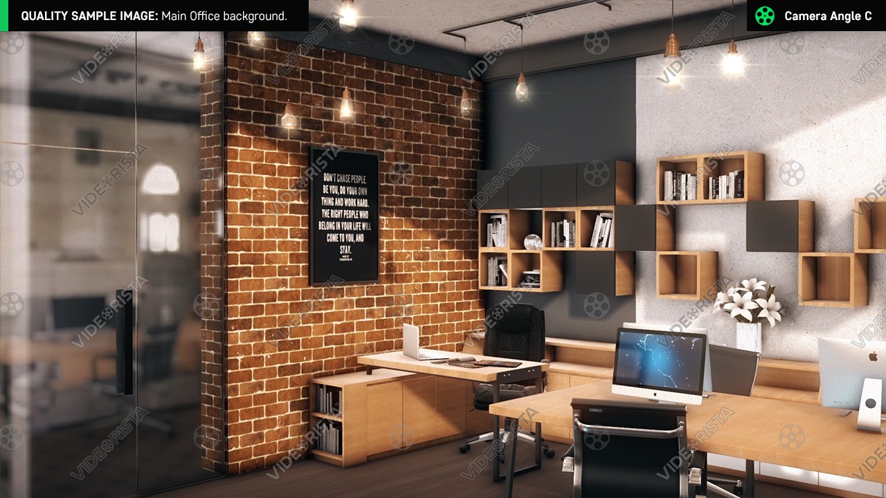 small corporate office