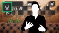 Interview Vintage Room - Virtual Set