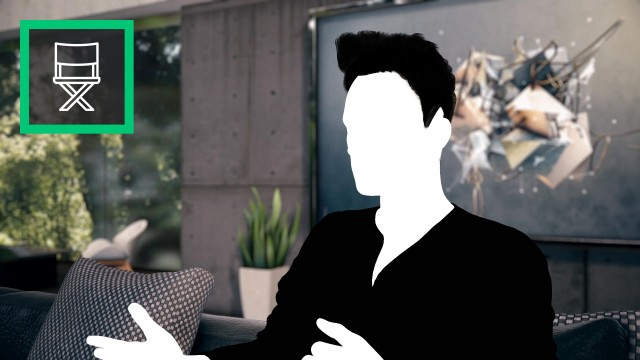 Interview at Home - Virtual Set