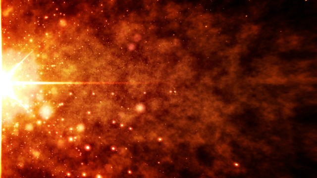 Sun Explosion background