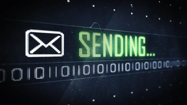 Pixel Sending Message and Symbol on Digital LED Screen. Looping
