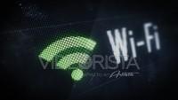 Señal de Wifi en Pantalla con acercamiento