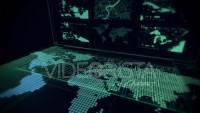 Cyber City - Virtual Computer Projection