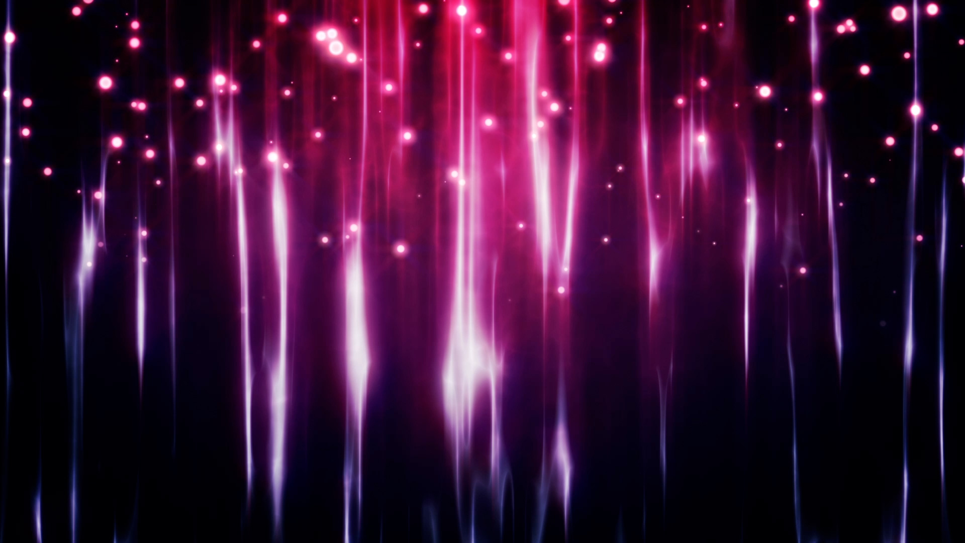 Pink Background With Particles